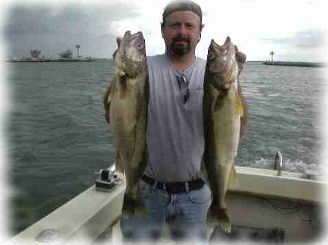Summer trophy walleye charter